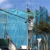 上棟21日目、透湿防水シート、電気工事、軒下の水切り