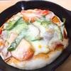 スキレットでピザ!(ホシノ酵母)