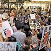「戦争法案反対in京都」と「辻本清美議員VS安倍首相」