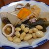 幸運な病のレシピ( 550 )昼:イカ大根風煮しめ、イナダ照り焼き、大豆の煮豆
