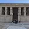 ナイル川クルーズとエジプト満喫8日間 Saharah 号乗船、デンデラのハトホル神殿観光