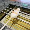 阿部蒲鉾店 で手焼き笹かま体験