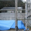 笠岡市の平屋 上棟(2014.1.30)