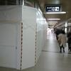 池田駅改札 工事中 @池田市