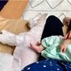 ☆生後20日目*娘×愛犬=最高の癒し☆