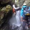 比良 比良の悪谷で滝登りトレ  2014.08.30
