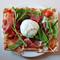 「丸ごとブッラータとパルマ産生ハムのマルゲリータ・ピザ」のお知らせ