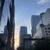 新宿の朝焼け♪♪