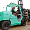 Xe nâng động cơ dầu diesel – các loại xe đang được ưa chuộng