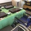 各会館に車椅子…