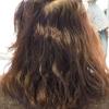 7割が  悩みを持っている髪のクセ毛!