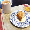 ランチョンマット日和~バケット!マーマレード!ミカン!コーヒー!!!(2020年1月11日~昼)
