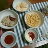 揖保の糸とパスタ麺は常備