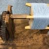 もう春なのに!手織りマフラーの準備ができました