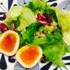 煮卵入りサラダ冷麺