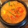 昼専門 「韓国純豆腐」でホルモンスンドゥブチゲライス付き