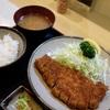 丸和で、とんかつ定食@馬車道
