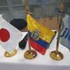 中間報告会と日本祭り