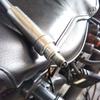 #バイク屋の日常 #YAHAMA #DS250 #プラグ交換 #NGK #CR6HSA