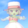 【ドワ子のドレア】浜辺のお嬢様コーデ