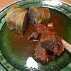 鹿ひき肉のロールキャベツ