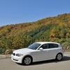116iで紅葉を楽しむドライブ...高山から安房峠を越えて松本へ