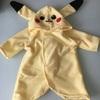 【ガチ裁縫初心者がミシンをいじる*その5】タオルでピカチュウの着ぐるみを作ってみた