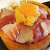 鴨居【築地青空三代目 ららぽーと横浜】ウニたま海鮮丼 ¥1490