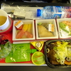 最終日~JAL帰国便の機内食~
