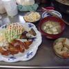 幸運な病のレシピ( 975 )朝:さんま開き、鶏むね唐揚げ、手羽先唐揚げ、味噌汁仕立て直し