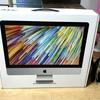 新型iMacが届きました!