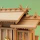 神明造りスタイルの屋根違い三社 上品シリーズ