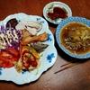 幸運な病のレシピ( 2229 )夜:鶏むねオーブン照り焼き、汁仕立直し、マユのご飯