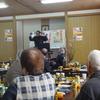 保原町日本共産党後援会の議会報告会、新年会、にぎやかに学びました