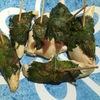 鶏のささ身の梅肉大葉巻きを作ってみた。梅干しと大葉の組み合わせがジャカルタ生活に染み入ってきます。