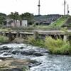 日本最古の石造り沈下橋 大分県杵築市山香町