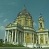 【写真複製・写真修復の専門店】イタリア トリノスペルガ聖堂 色調修正
