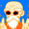 日常四コマ漫画『亀仙人!!』