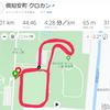 倶知安サッカー場クロカン10km