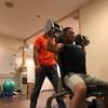 肩と上腕三頭筋の組み合わせのワークアウト 〜トレーニング内容と風景〜