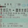 一筆書き切符でお得に旅行してみた