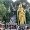 【マレーシア】2度目のバトゥ洞窟。今回は272段の階段を上ったよ。