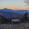 真冬の高尾山、凍えながら日の出を待つ徹夜旅