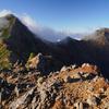 【八ヶ岳】行者小屋をベースに,秋の赤岳,横岳に登ってきました:その2 晴天の下,八ヶ岳の稜線を歩く