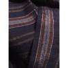 着物生地(362)縞織り出し手織り真綿紬