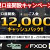 【東西FX】海外FXキャッシュバックをまもなく期限切れのお知らせ!!! (9月)