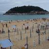 サン・セバスティアン観光 ラ・コンチャビーチを海岸散歩 (5日目)