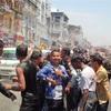 水かけ祭り inヤンゴン