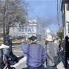 アスクル倉庫、内部に入って消火作業…出火後初