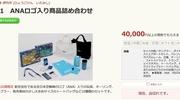 ふるさと納税で伊丹市に寄付して「ANAのロゴ入り商品詰め合わせ」を貰ってみました